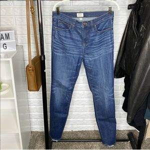 J Crew // Lookout High Rise Skinny Jeans